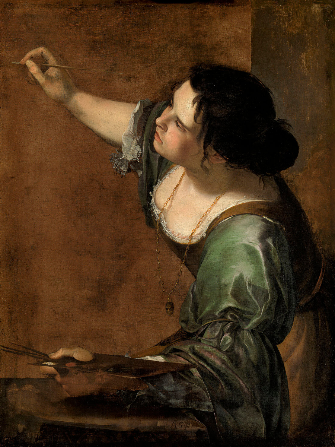 Autoritratto_Allegoria della pittura_Artemisia Gentileschi_1638-39_Royal Collection Windsor_lasinodoro